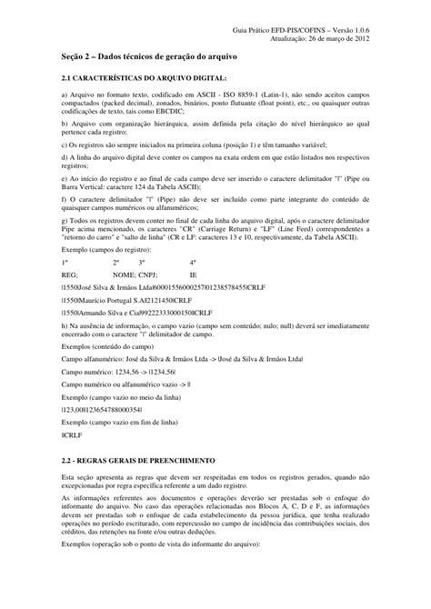 GUIA PRÁTICO DA ESCRITURAÇÃO FISCAL DIGITAL DA