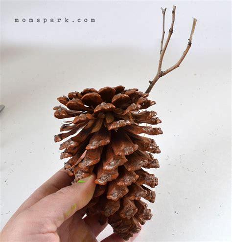 pine cone ornaments pine cone ornaments spark