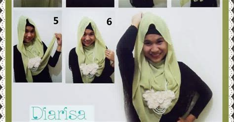 tutorial hijab segi empat april jasmine cara memakai jilbab modis dan simpel hot girls wallpaper