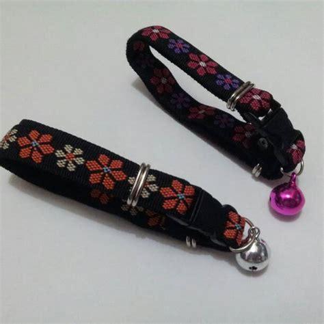 Kalung Renda Untuk Kucing Anjing jual kalung kucing kalung bell big flower untuk anjing kucing lytta shop