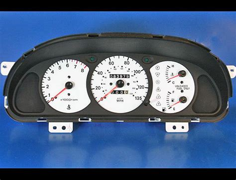how cars run 2000 kia sephia instrument cluster sell white face gauge kit fits 2000 2001 kia sephia dash instrument cluster 00 01 motorcycle in