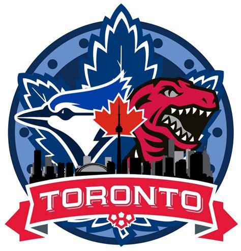 Kaos Toronto Blue Jays Logo 4 toronto sports multi logo torontobluejays