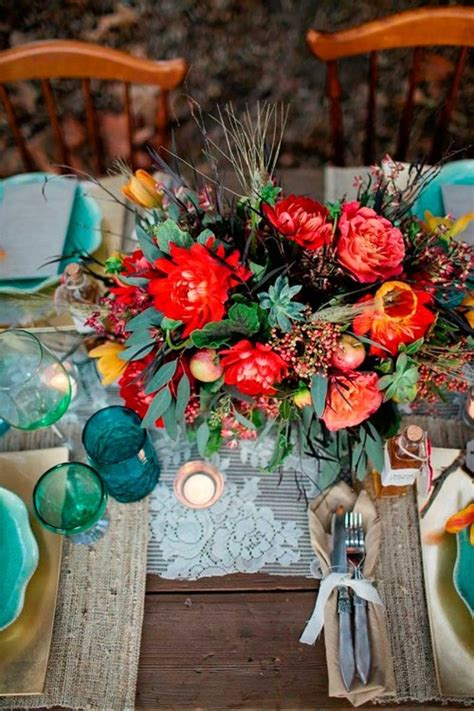 floral ideas  boho wedding decor messagenote