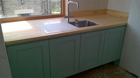Joining Kitchen Worktops Together by The Original Recycled Kitchen Buzzing With Excitement And
