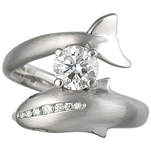 beautiful wedding rings beautiful dolphin engagement rings