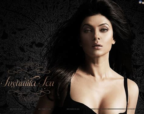 sushmita sen eyebrows sushmita sen hot hd wallpaper 55 best cleavages