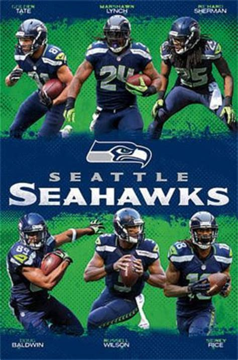 printable seahawks poster seattle seahawks team posters allposters co uk