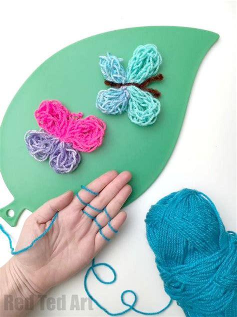 finger knitting ideas 3147 best from ted images on