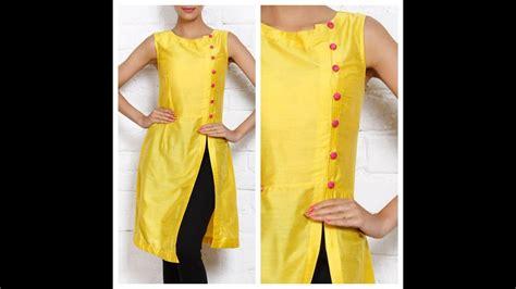 front slit   kurti salwar kameez markingcutting
