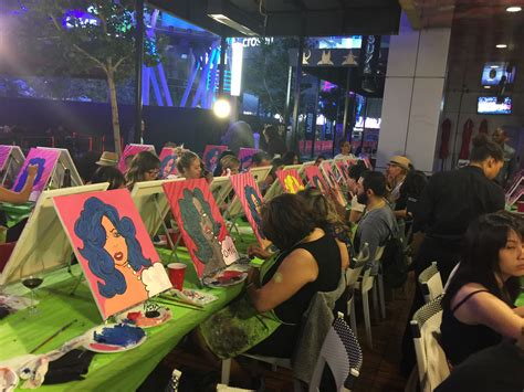 paint nite los angeles sushi sake paint nite los angeles