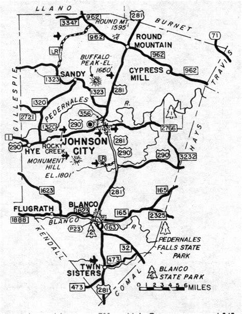 blanco texas map blanco county texas maps and gazetteers