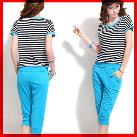 Setelan Tiger Turkish Diskon 1 jual beli st summer cl pakaian wanita setelan salur