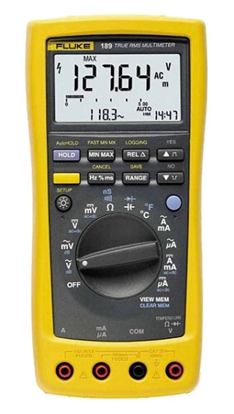 Multimeter Fluke 189 fluke 187 fluke 189 and 189 fvf2 digital multimeter replaced by fluke 289 fluke 287 special