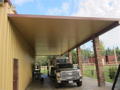 Patio Cover Attached To Roof Carport Rv Amp Equipment Canopy Photos Americal Awning