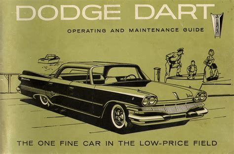 old cars and repair manuals free 2005 dodge durango electronic valve timing 1960 dodge dart owner s manual