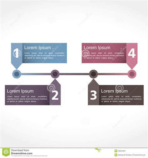 timeline design stock image image 36504481
