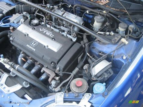 1999 Honda Civic Si Engine by 1999 Honda Civic Si Coupe 1 6 Liter Dohc 16v Vtec 4