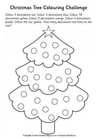 more christmas worksheets