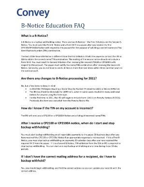 First B Notice Sle Letter Fill Online Printable Fillable Blank Pdffiller B Notice Form Template