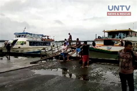 sinking boat in quezon pcg allows passenger vessels in real quezon to sail