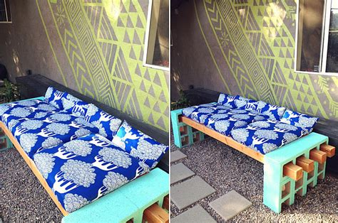 cinder block bench diy the 10 ideal summer time diy projects best of interior