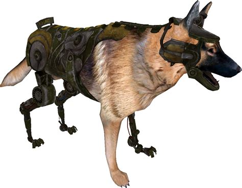 new technology for dogs authentic cyberdog retexture at fallout new vegas mods