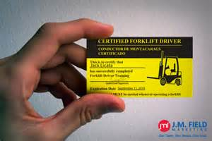 safety first jmf fulfillment conducts osha forklift training