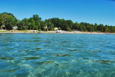 micro beach tiny beaches woodland beach ontario tiny is a