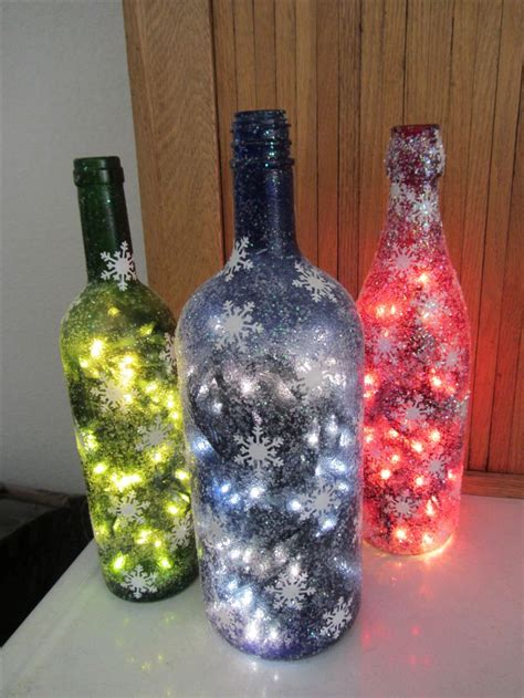christmas wine bottles wine bottles and cork projects