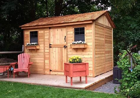 Garden Shed World by Olt 12 X8 Cedar Garden Shed World Of Greenhouses