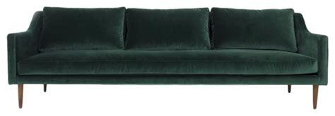 modern velvet sofa green sofa best 10 green decor ideas on