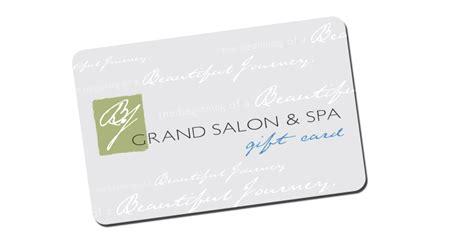 Bjs Gift Cards - bj grand salon spa gifting