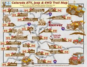 colorado ohv trail maps colorado atv jeeping 4wd trail maps co vacation directory