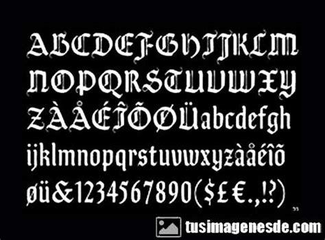 imagenes letras goticas nombres imagui letras goticas para nombres