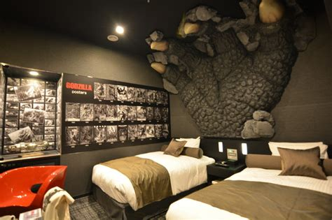 themed hotels in tokyo photos tokyo s godzilla hotel japan real time wsj