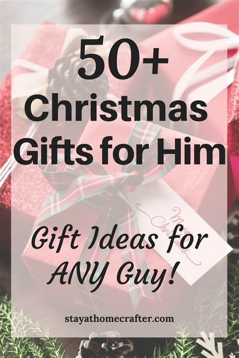50 unique christmas gift ideas for him stay at home crafter