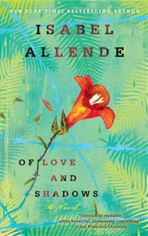 of love and shadows of love and shadows by isabel allende reviews discussion bookclubs lists