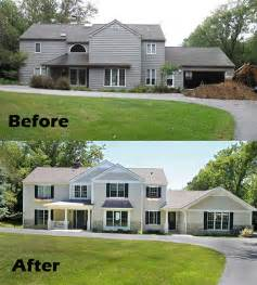 before and after home remodel home improvements