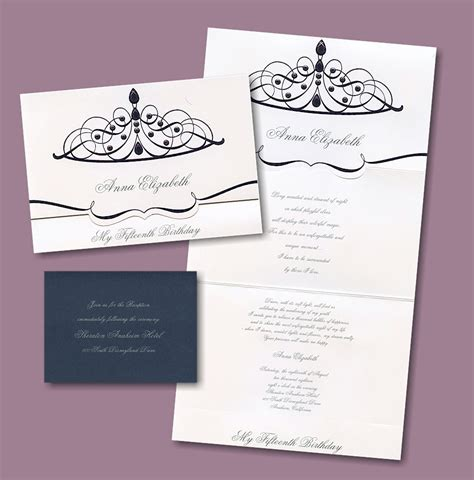 printable quinceanera card quinceanera invitations for quinceaneras blank party