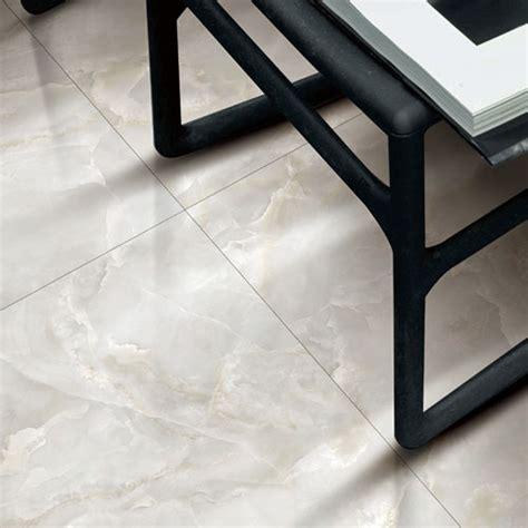 glacier white marble effect polished porcelain wall floor tiles