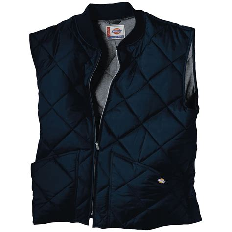 Quilted Vest by Dickies 174 Quilted Work Vest 421278 Vests At Sportsman S Guide