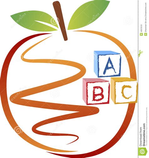 Baby On Board Sign Apple education apple logo stock vector image 40576101