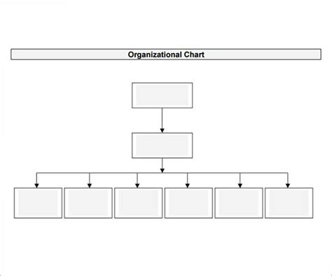 10 Organizational Chart Template Download Free Documents In Pdf Word Excel Hierarchy Chart Template Word