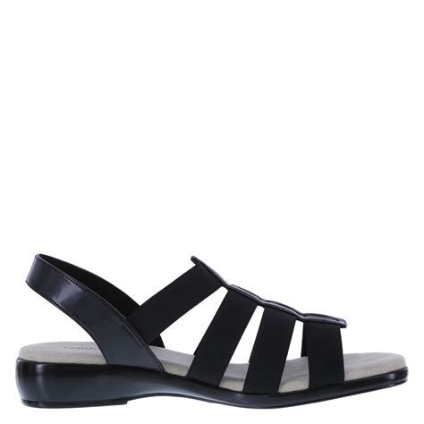payless wedge sandals comfort plus s paulette strappy wedge sandal payless