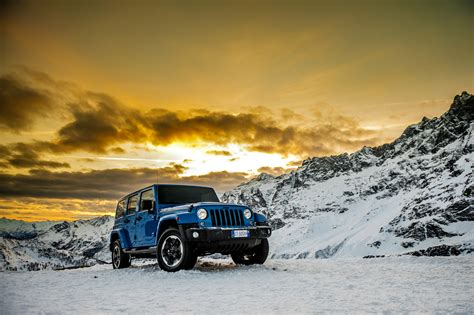 jeep snow cool jeep wrangler polar special edition is all news