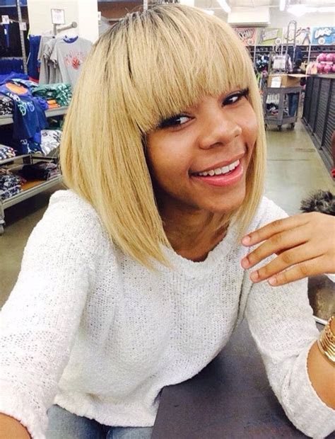 blonde bob quick weave 25 best ideas about chinese bangs on pinterest sew in