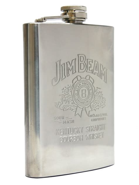 Hip Flask Grafir Jim Beam cilory