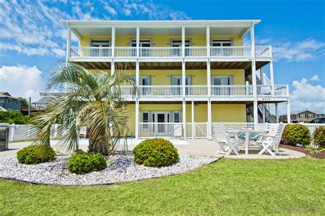 bluewater vacation rentals emerald isle coast wedding and event homes bluewater nc