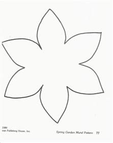 Flower Paper Craft Template - the 25 best ideas about daffodil craft on