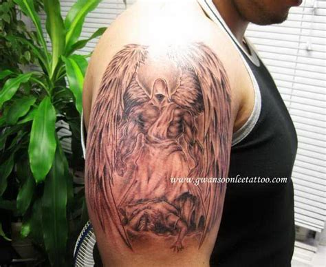 angel half sleeve tattoo half sleeve gwan soon 5357451 171 top